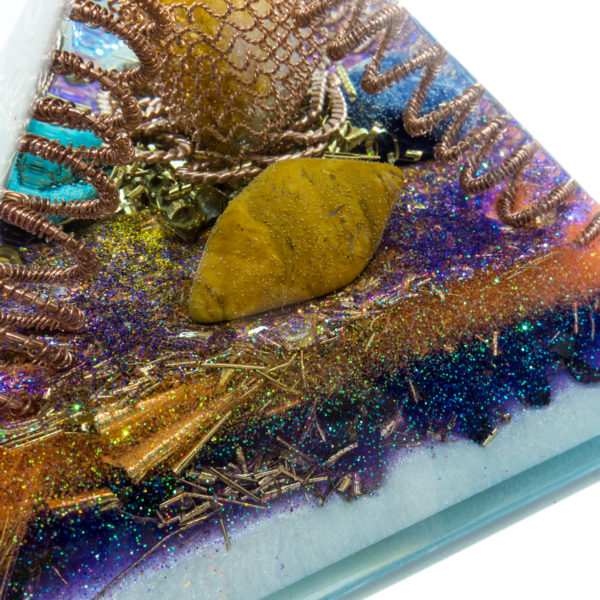 Orgonite Pyramid – Fifth Element - 10